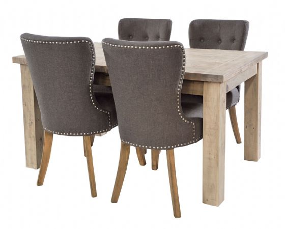 Gaverne Extending Dining Table & Lostwithiel Chairs - Special Order
